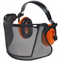 Защита лица с наушниками Stihl Economy, нейлоновая сетка (00008840517)