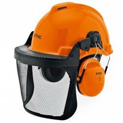 Защитный шлем с сеткой и наушниками Stihl Special (00008842401)