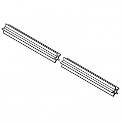 Опорная труба Stihl для мотокос FS 55, FS 56, FS 70 (4137-711-7302)