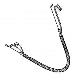 Тросик газа Stihl для FS 87, FS 90, FS 100, FS 130 (4180-180-1151)