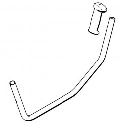 Рукоятка Stihl для FS 55 (4137-790-1701)