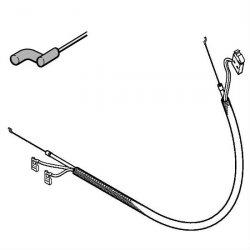 Тросик газа Stihl для FS 55 (4140-180-1112)
