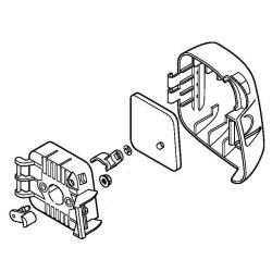 Корпус фильтра Stihl для FS 38, FS 45, FS 55 (4140-140-2851)