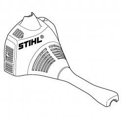 Кожух Stihl для FS 55 с U-рукояткой (4140-080-1603)