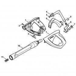 Пистолет-распылитель Stihl для моек RE 108, RE 118, RE 119, RE 128 Plus (4915-500-1320)
