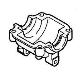 Поддон картера Stihl для FS 38, FS 45, FS 55 (4140-021-2500)