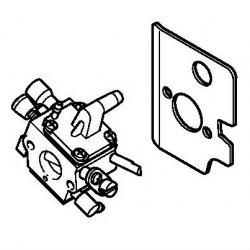 Карбюратор C1Q-S161A Stihl для FS 120, FS 300, BT 121 (4134-120-0652)