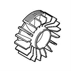 Маховик Stihl для FS 38, FS 45, FS 55 (4140-400-1200)