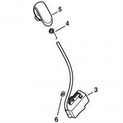 Катушка зажигания Stihl для FS 87, FS 90, FS 130 (4180-400-1308)