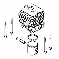 Цилиндр с поршнем, диам. 34 мм Stihl для мотокос FS 56 (4144-020-1200)