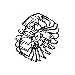 Маховик Stihl для FS 87, FS 90, FS 130, FS 310 (4180-400-1200)