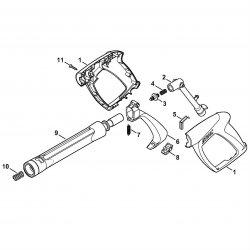 Пистолет-распылитель Stihl для моек RE 88, RE 98 (4915-500-1398)