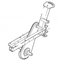 Рама с редуктором Viking для VH 540 (6227-740-0500)