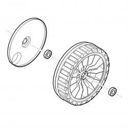 Приводное колесо 200 Viking для MB 443 T, MB 448 T (6338-700-0490)