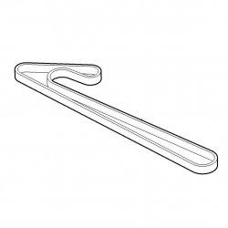 Двухсторонний зубчатый ремень Viking для садовых тракторов MT 6127.1 ZL (6170-764-0910)
