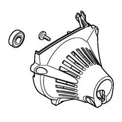 Корпус вентилятора Stihl для FS 87, FS 90, FS 100 (4180-080-1809)