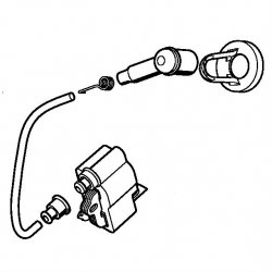 Катушка зажигания Stihl для MS 261 (1141-400-1331)