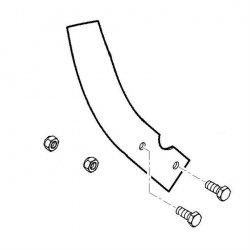 Нож пропашной левый Viking для культиваторов HB 560, HB 585, HB 685 (6242-710-3100)