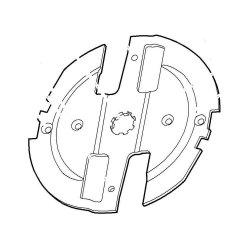 Режущий диск Viking для GE 355 (6011-702-1100)