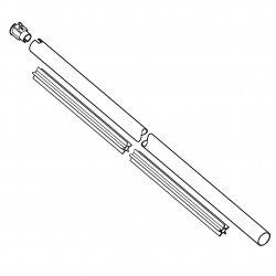 Хвостовик диам. 25,4 мм Stihl для FS 70 (4144-710-7109)