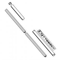Хвостовик диам. 25,4 мм Stihl для FS 120, FS 130, FS 250 (4137-710-7136)