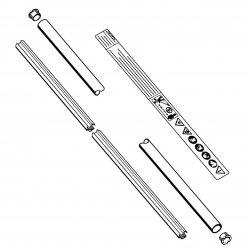 Хвостовик диам. 25,4 мм Stihl для FS 87, FS 90, FS 100 (4137-710-7108)