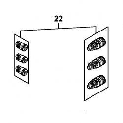 Набор клапанов Stihl для моек RE 100, RE 110, RE 120, RE 130 Plus (4950-700-6200)