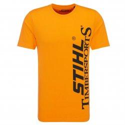 Футболка STIHL Timbersports оранжевая, размер - S (04205000048)