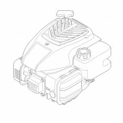 Двигатель Stihl EVC 200.2 для газонокосилок RM 248, RM 253