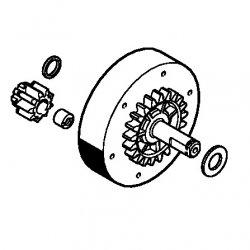Зубчатое колесо Stihl для MSE 170, MSE 190, MSE 210, MSE 230, MSE 250 (1209-640-7500)